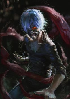Tokyo Ghoul by XiaoBotong
