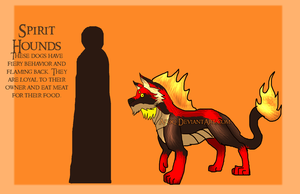 Xedralkana: Spirit Hounds Reference by Asoq