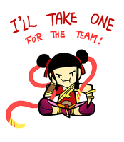 Smite - For The Team (Chibi) by Zennore