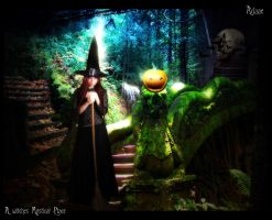 A witches mystical place by Adaae