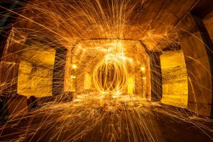 Tunnel Spin 3 by 904PhotoPhactory