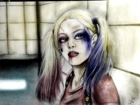 Huh? Harley Quinn - Suicide Squad by Huang-Jun