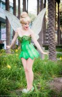 Tinkerbell Cosplay at WonderCon 2015 by glimmerwood