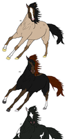 Horse Adoptables - CLOSED by Sapphira-Page