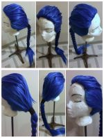 Shyvana (Ice Drake) Wig - Leauge of Ledends by taiyowigs