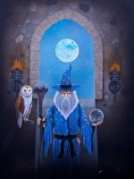 Merlin the Wizard by simonbearedwards