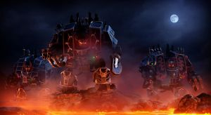 Chaos Dreadnoughts by Joazzz2