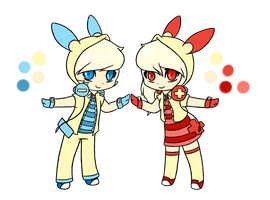 Pokemon Gijinka Adopts - [Closed] by li-Fae
