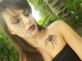 SpiderQueen Makeup by NiliaStyle