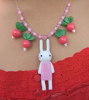 Bunny Necklace by uglykat