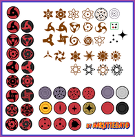 free to use - mangekyou sharingan by Naruttebayo67