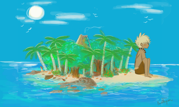 Not so Deserted island by Friendlyfoxpal