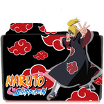 Naruto Shippuden Folder Icon by KairaPlatypus