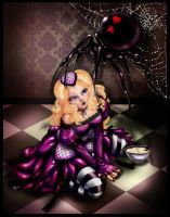 little miss muffet redone by ladylionink