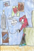 Request for Knuckles-is-me by SilverLinedShadow