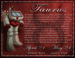 Autobot Astrology: Taurus by NightyIcons