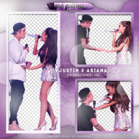 +Justin y Ariana photopack png by ForeverTribute