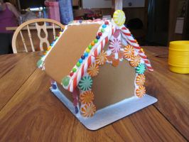 Gingerbread house by enc86