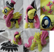 Private Pansy Fluttershy by Cryptic-Enigma