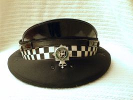 British Police Peaked Cap 01 by Zeds-Stock