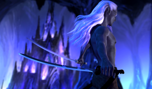Drizzt :: The Hunter by DrowElfMorwen