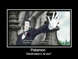 Claude and Pokemon by Kitleah