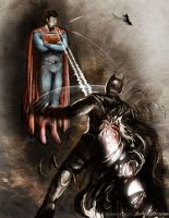 The Dark Knight Frises by gavwoodhouse