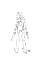 Laura (X-23) : Whatever it takes to protect my kin by choyuki
