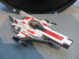 Lego Modified A-Wing Interceptor 1 by InDeepSchit