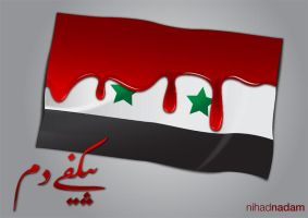 Syria Flag by Nihadov