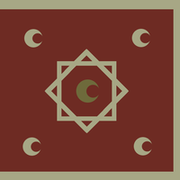 Flag - Marinid War Flag IV by Akkismat