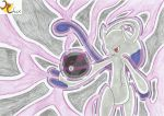 Mewtwo Y and the New Master Ball by RiderRhix