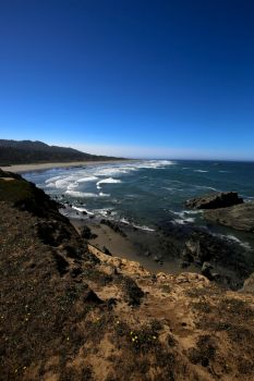 South from Otter Point by Caloxort