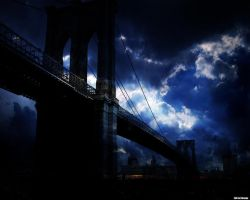 Brooklyn Bridge by amiLOnZ