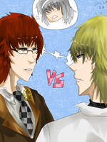 Landon vs. Nathan by InsertHumor