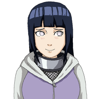 Hinata in MS Paint by CloverSama