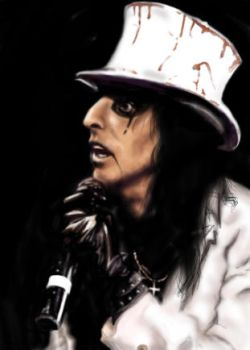 Tribute to Alice Cooper by thedeanna