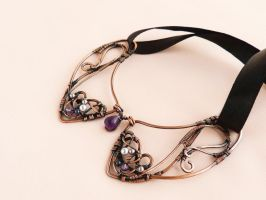 Grapes  - wire collar by UrsulaOT