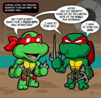 Lil Formers - Turtles Forever by MattMoylan