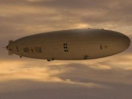 Gold Star Six, cargo airship by LtJim