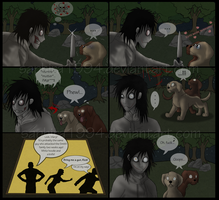 Adventures With Jeff The Killer - PAGE 6 by Sapphiresenthiss