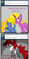 Ask Frowny 31-33 by Archonitianicsmasher
