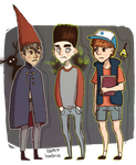 Wirt Norman Dipper by hon0rius