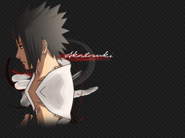 Sasuke .Akatsuki NG. Wallpaper by alice-johnsson