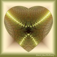 Golden Heart by Annushkka