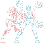 PC for Ryu-HQ - Embria and Amritaya by AlyssaFoxAH