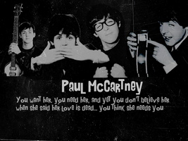 Paul McCartney Wallpaper by xMrsPaulinaMcCartney