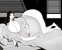 Sin City: A Dame To Fill Up by RiddleAellinea