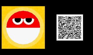Freakyforms: Voltorb QR Code by nintendolover2010