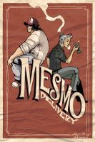 Mesmo Delivery pin up by crispeter